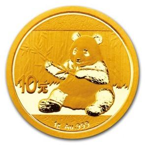 1 gram Gold Panda Coin 2017