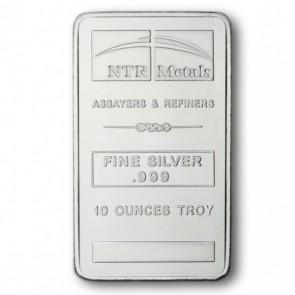 10 oz Silver NTR Bar