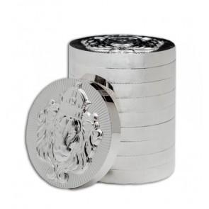 100 g Silver Scottsdale Stacker Round