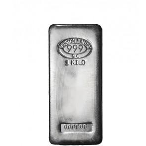 1 kilo Silver Johnson Matthey Bar