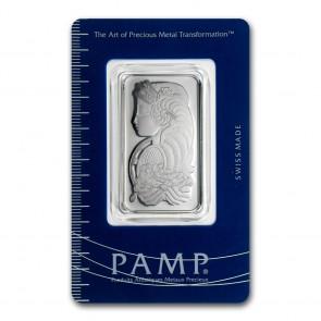 1 oz Platinum PAMP Fortuna Bar