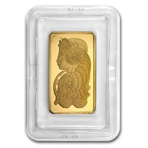 5 oz Gold PAMP Suisse Fortuna Bar