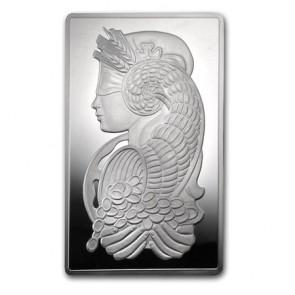 10 oz Silver PAMP Fortuna Bar