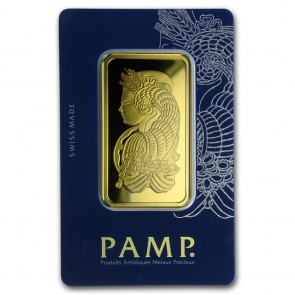 50 gram Gold PAMP Suisse Fortuna Bar