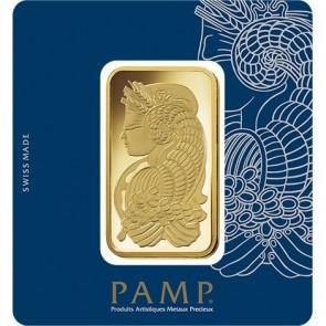 100 gram Gold PAMP Suisse Fortuna Veriscan Bar