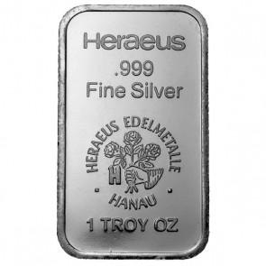 1 oz Silver Heraeus Edelmetalle Bar