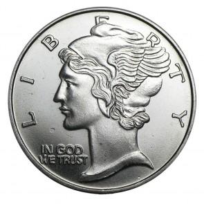 1 oz Silver Mercury Dime Round