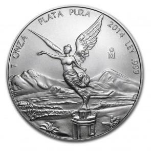 1 oz Silver Mexican Libertad Coin Pre-Year