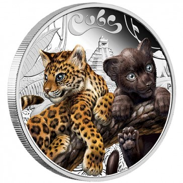 1/2 oz Silver The Cubs - Jaguar Proof Coin 2016