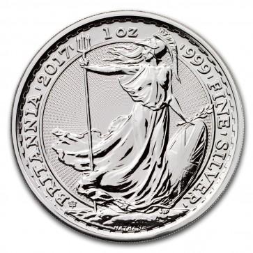 1 oz silver Britannia 20th Anniversary Coin 2017