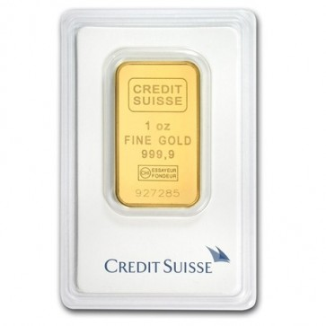 1 oz Gold Credit Suisse Bar