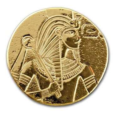 1 oz Gold Republic of Chad King Tut Coin 2017