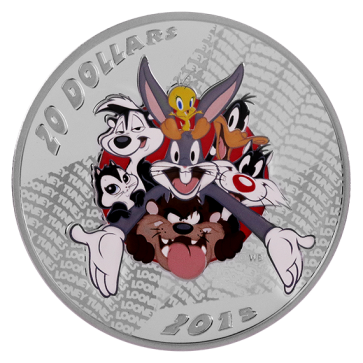 1 oz Silver Looney Tunes Merrie Melody Coin 2015