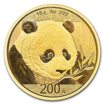 15 gram Gold Chinese Panda Coin 2018