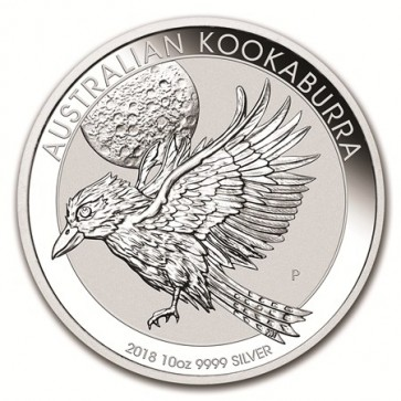 10 oz Silver Perth Mint Kookaburra Coin 2018