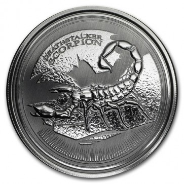 1 oz Silver Chad Scorpion Coin 2017