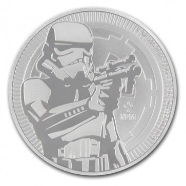 1 oz Silver Niue Star Wars Stormtrooper Coin 2018