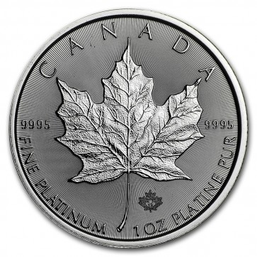 1 oz Platinum RCM Canadian Maple Leaf Coin 2019