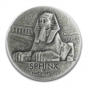 5 oz Silver Sphinx of Hatshepsut Coin