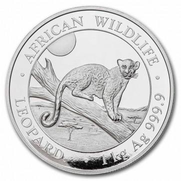 1 Kilo Silver Leopard Coin 2021