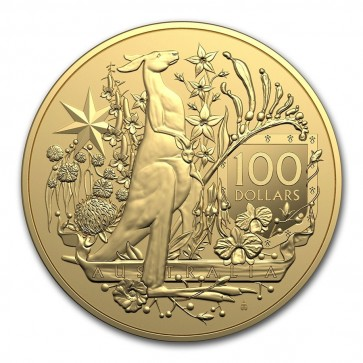 1 oz Gold Australia Coat of Arms Coin 2021