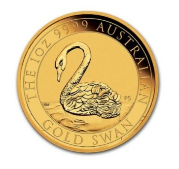 1 oz Gold Australia Swan Coin 2021