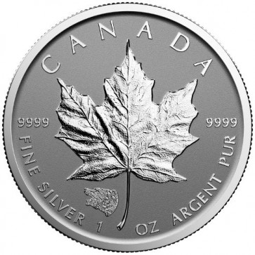 1 oz Silver Canadian Maple Leaf Grizzly Bear Privy Coin 2016