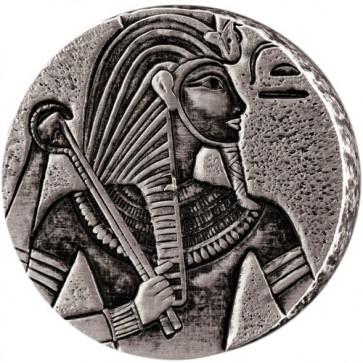 5 oz Silver Egyptian Relic Series - King Tut Silver Coin 2016
