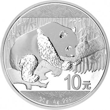 30 gram Silver Panda Coin 2016