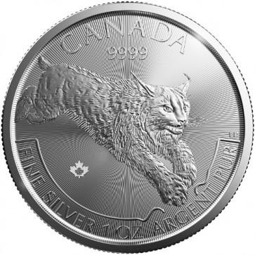 1 oz Silver Predator Series - Lynx Coin 2017