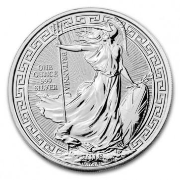 1 oz Silver Britannia Oriental Border Coin 2018