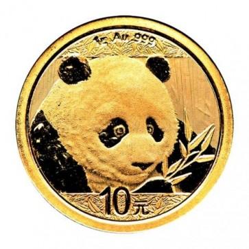1 gram Gold Chinese Panda Coin 2018