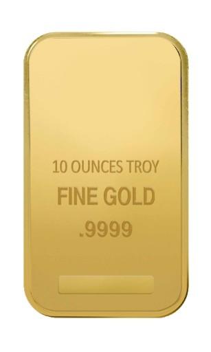 10 oz Gold Various Bar