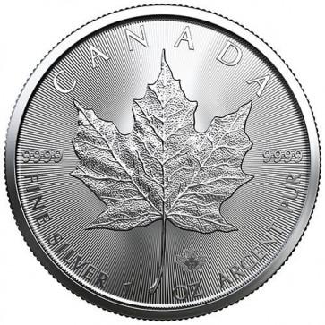 1 oz Silver Canadian Maple Leaf Coin 2020