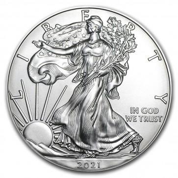 1 oz Silver American Eagle Coin 2021