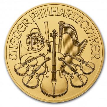 1 oz Gold Austrian Philharmonic Coin 2021