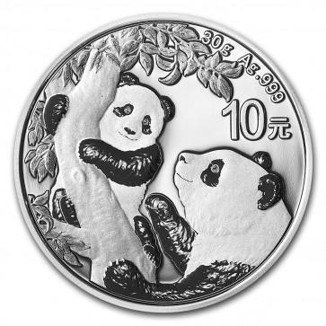 30 gram Silver Chinese Panda Coin 2021