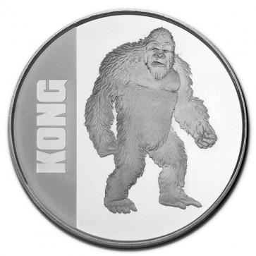 1 oz Silver Godzilla vs Kong - KONG Coin 2021