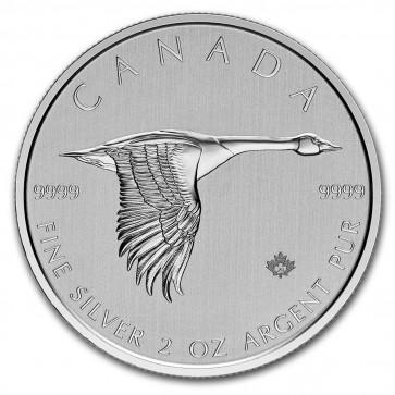 2 oz Silver RCM Canada Goose Coin 2020