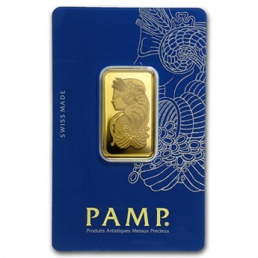 20 gram Gold PAMP Suisse Fortuna Veriscan Bar