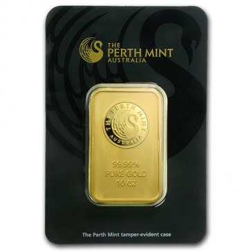 10 oz Gold Perth Mint Bar
