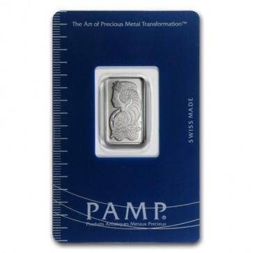 5 gram Platinum Fortuna Bar