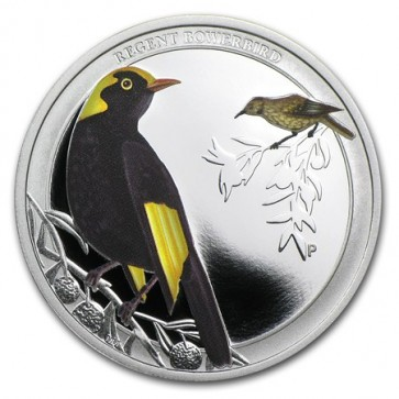 1/2 oz Silver Regent Bowerbird Proof Coin 2013