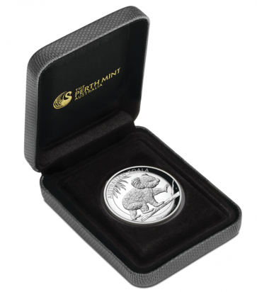 1 oz Silver Australian Koala High Relief Proof Coin 2016