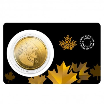 1 oz Gold RCM Call of the Wild Bobcat Coin 2020