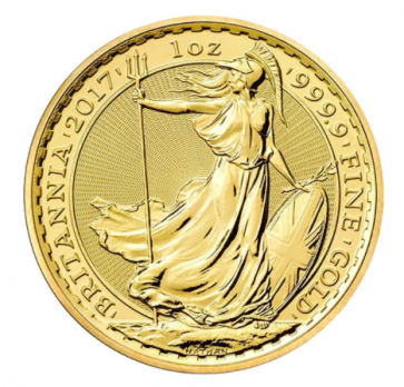 1 oz Gold Britannia Coin 2017