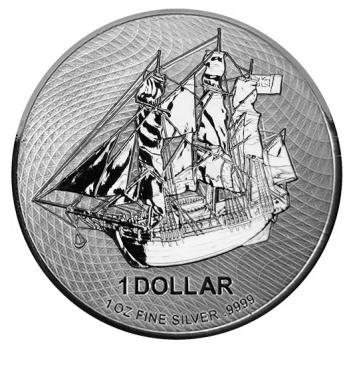1 oz Silver Cook Island Bounty Coin 2020