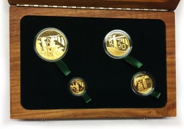 Gold Natura Series - Meerkat 4 Coin Set 2011