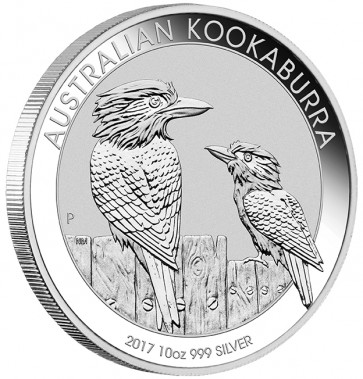 10 oz Silver Perth Mint Kookaburra Coin 2017