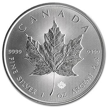 1 oz Silver Canadian Maple Leaf Coin Pre-year